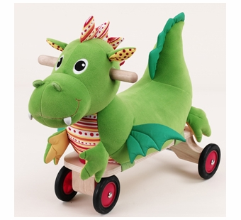 Wonderworld Toys <br />Puffy Dragon Ride On