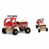 Wonderworld Toys <br />Ride On Fire Engine