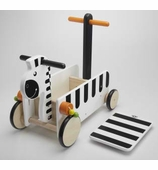 Wonderworld Toys <br />Ride On Zebra