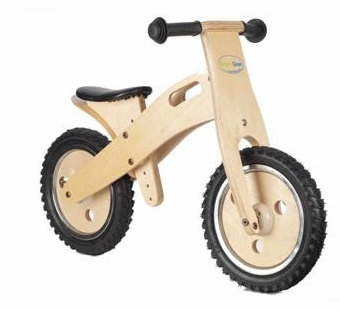 Wonderworld Toys <br />Wood Balance Bike Classic