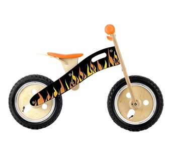 Wonderworld Toys <br />Wood Balance Bike Flame