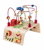 Wonderworld Toys <br />Wood City Beads Roller Coaster