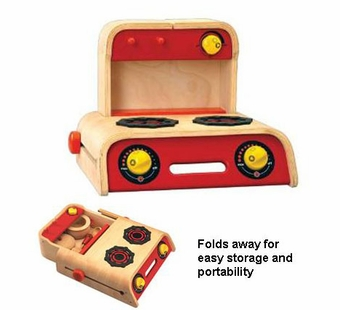 Wonderworld Toys <br />Wood Portable Play Cooker