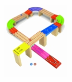 Wonderworld Toys <br />Wood Racing Marble Track