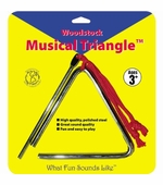 "Woodstock Percussion <br />5"" Musical Triangle"