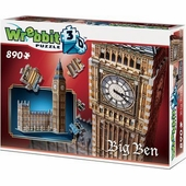 Wrebbit 3D Puzzles <br />Big Ben and Parliament 3 D Puzzle