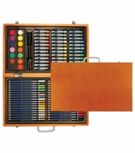 Xonex Art Kits <br />88 piece Art Set in Wooden Box