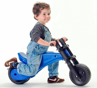 YBIKE <br />Blue Balance Bike