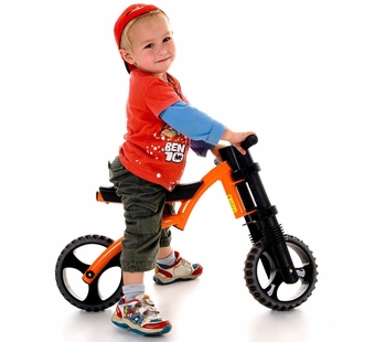 YBIKE <br />Extreme Orange Balance Bike