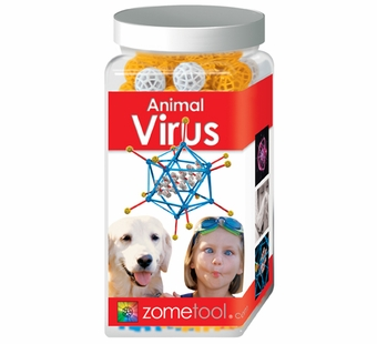 Zometool <br />Animal Virus Science Kit