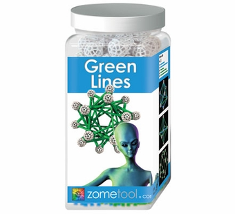 Zometool <br />Green Lines Science Kit