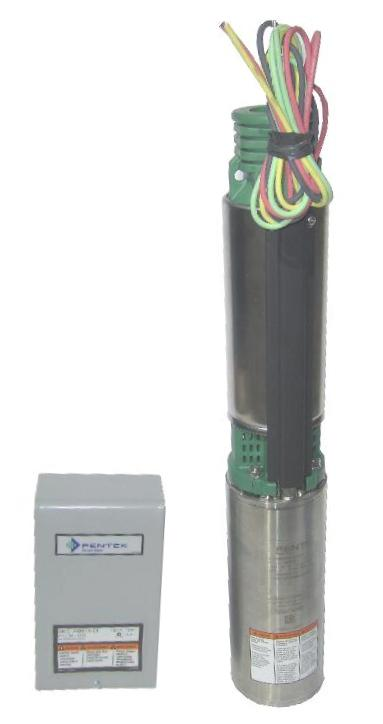 myers rustler submersible water well pump gpm hp v myers submersible well pump 20 gpm 1 5 hp 230v control box 3nfl152 20