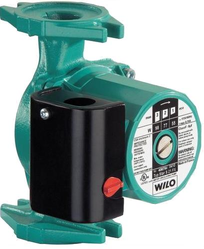 Wilo Hot Water Circulating In Line Pumps For Systems With
