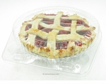 "6"" Clamshell pie container - #CPC-106"