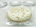 "9"" Pie Container - #CPC-119 - High Dome"