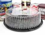 "Cake Container - 9"" low dome - WG25"