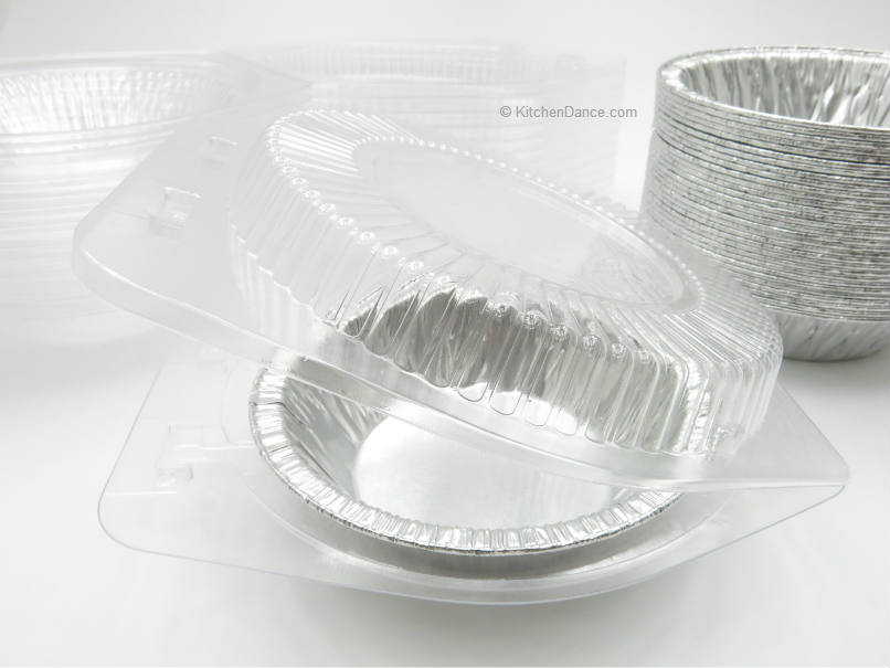 Combo Pack 5 Quot Foil Tart Pan With Plastic Clamshell Container
