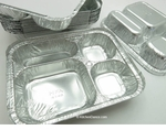 Four Compartment Foil Tray  -  #4145L