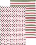 2 Piece Dotty Kitchen Towels
