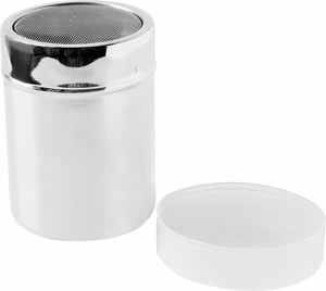 "4"" Stainless Steel Shaker with Mesh Top - Click to enlarge"