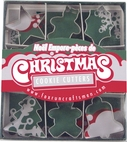 9 Piece Mini Christmas Cookie Cutter Set