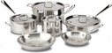 All Clad Stainless Steel 10 Piece Set