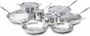 All Clad Stainless Steel 14 Piece Set