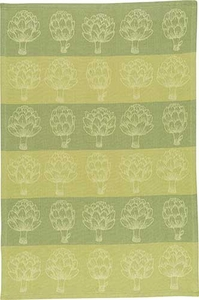 Artichokes Jacquard Towel - Click to enlarge