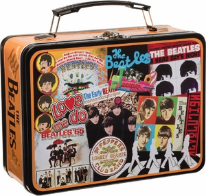 Beatles Albums Lunch Box - Click to enlarge