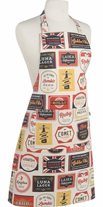 Beer Labels Apron - Click to enlarge