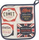 Beer Labels Potholder