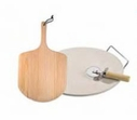 Bialetti 4 Piece Round Pizza Stone Set