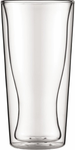 Bodum Set of 2 Skal 12 oz Beer Glasses - Click to enlarge