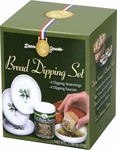 Bread Dipping Set with Melamine Dishes