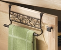 Bronze Twigz Over the Cabinet Towel Bar