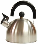 Brushed Stainless Steel Simplicity Tea Kettle