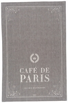 Caf� de Paris Chambray Towel