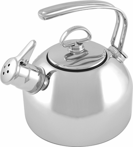 Chantal 1.8 Quart Stainless Steel Tea Kettle - Click to enlarge