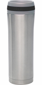 Chantal 15 Ounce Stainless Steel Travel Mug - Click to enlarge