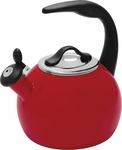 Chantal 2 Quart Chili Red Robin Tea Kettle