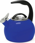 Chantal 2 Quart Indigo Blue Anniversary Tea Kettle