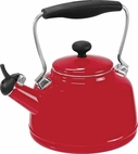 Chantal 2 Quart Red Vintage Tea Kettle