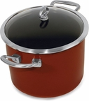 Chantal Copper Fusion Red 8 Quart Stock Pot