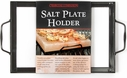 Charcoal Companion Porcelain Coated Salt Plate Holder