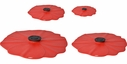 Charles Viancin Poppy Lid Set of 4 Assorted Sizes