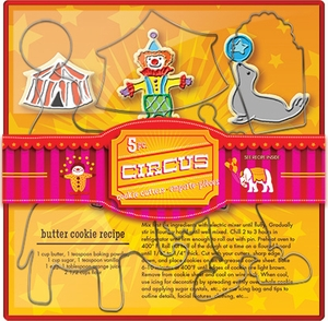 Circus Cookie Cutter Set - Click to enlarge