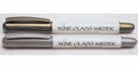 Cork Pops Gold & Silver Wine Glass Writer Pens