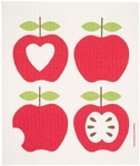 Cose Nuove 4 Apples Swedish Dish Towels