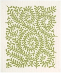 Cose Nuove Green Leaves Swedish Dish Cloth