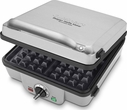 Cuisinart Breakfast Central 4 Slice Belgian Waffle Maker with Pancake Plate